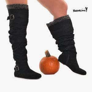 NWT Just Fab Jentry Knee High Boots